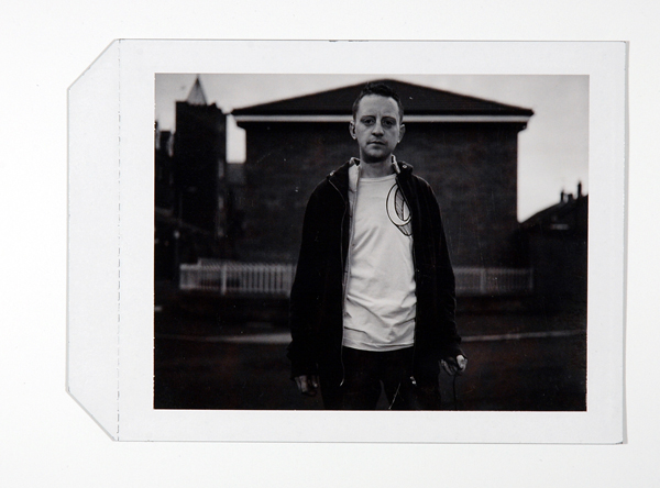 Polaroid from the making of Assisted Self-Portrait of Sean McAuley, Residency, 2006–2008.